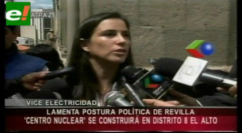 Centro de Investigación Nuclear se construirá en El Alto, deciden Evo y Fejuve sin consulta a alcaldesa