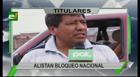 Titulares de TV: Transporte pesado alista bloqueo nacional para la próxima semana, rechazan las políticas de la Aduana