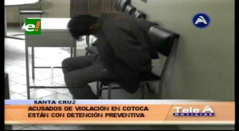 Envían a Palmasola a acusado de violación en Cotoca