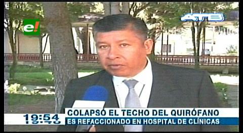 La Paz: Hospital de Clínicas reprograma cirugías en quirófanos prestados