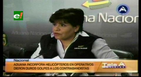 Aduana: Helicópteros coadyuvan en los operativos contra el contrabando