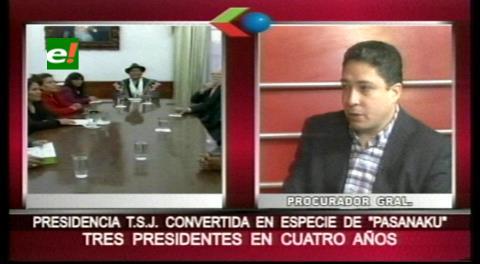"""Procurador considera que en el TSJ se reparten la Presidencia como si fuera un """"pasanaku"""""""