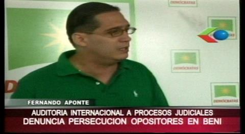 Demócratas de Beni exigen auditorías jurídicas externas