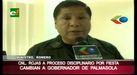Cae gobernador de Palmasola. Show en la cárcel fue para celebrar cumpleaños de general Nina