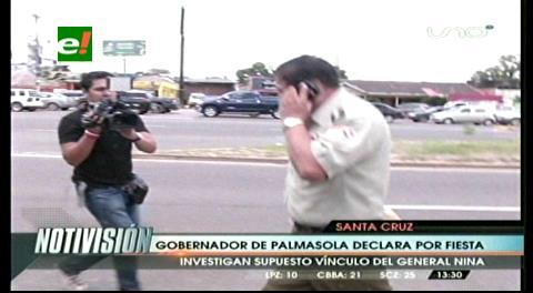 Declara ex gobernador por la fiesta en Palmasola