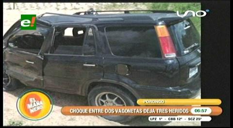 Accidente deja tres heridos en municipio de La Guardia