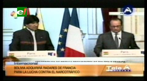 Bolivia compra radares franceses por 200 millones de euros