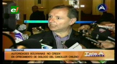 Senador Gonzáles dice que Chile habla de diálogo pero envía a sus FFAA a la frontera