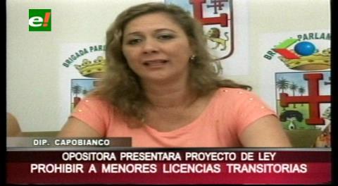 Diputada Capobianco presenta  proyecto de ley de protección a la vida y prohibición de conducción a menores de edad