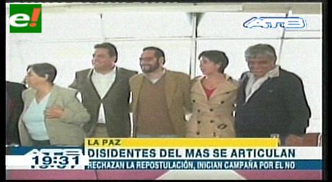 Sol.bo articula alianza por el No y se lanza hacia 2019; Ponchos Rojos van a Santa Cruz por el Sí