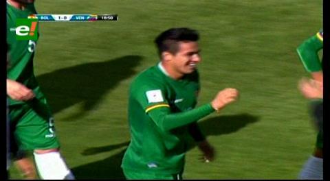 Bolivia lleva la ventaja sobre Venezuela por 2-0