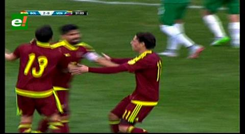 Bolivia 2-1 Venezuela: Venezolanos descuentan con gol de Rondón