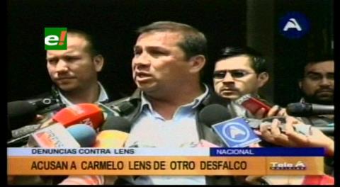 Alex Ferrier dice que Carmelo Lens desfalcó 2 millones de dólares a la Gobernación beniana