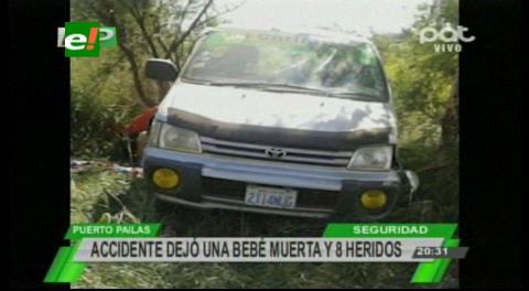 Accidente con muerte y heridos en la ruta Pailón