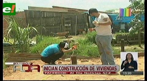 Inician construcción de las viviendas de ayuda social