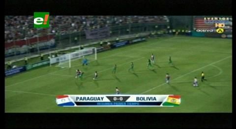 Paraguay 0-0 Bolivia: Resumen del primer tiempo