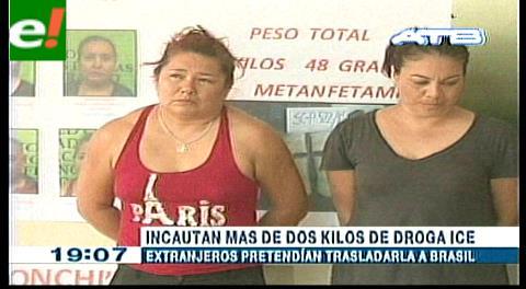 Santa Cruz. FELCN desbarata organización internacional que traficaba droga sintética