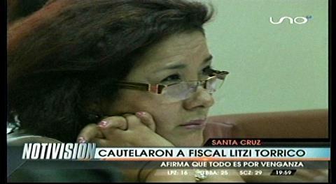 Arresto domiciliario para fiscal Litzi Torrico, acusada  de extorsión