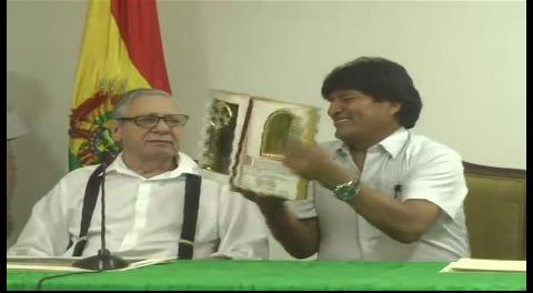 """Percy hará campaña """"desde ahora"""" por la reelección de Evo Morales"""