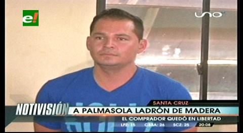 Envían a Palmasola al acusado de atracar barraca