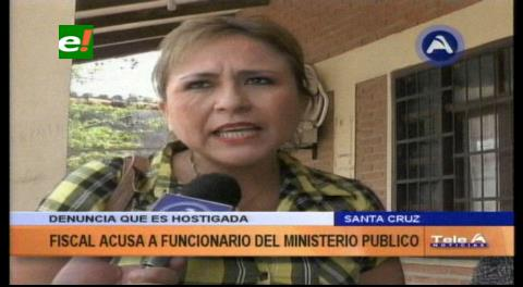 Fiscal denuncia hostigamiento de un funcionario del Ministerio Público