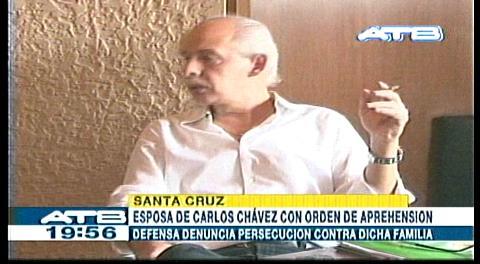Ordenan aprehensión en contra de esposa de Carlos Chávez