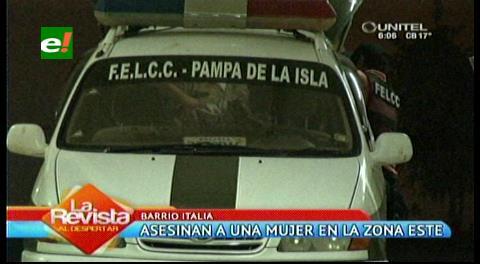 Asesinan a una mujer en el Barrio Italia, la habrían atracado