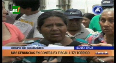 Conflicto por terrenos: Guaraníes denuncian a ex fiscal Litzy Torrico