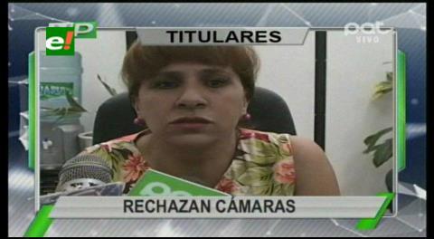 Titulares de TV: Autoridades judiciales rechazan la instalación de cámaras en sus oficinas