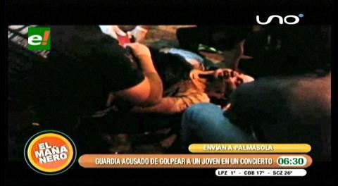 Santa Cruz. Envían a Palmasola a guardia agresor en Tigo Music Fest