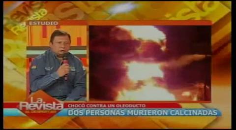 ANH: Incendio en gasoducto no afectará el suministro de crudo