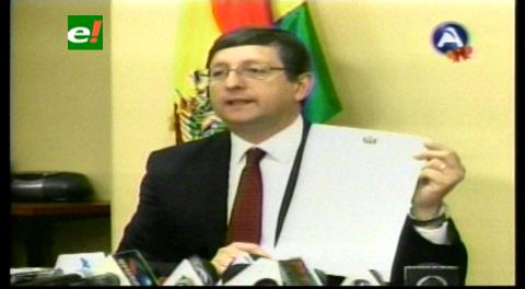 Senador Ortiz afirma que el BCB redujo su patrimonio en un 95% en tres años