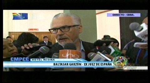 Ex juez Garzón pide a Chile abrir el diálogo sobre el mar