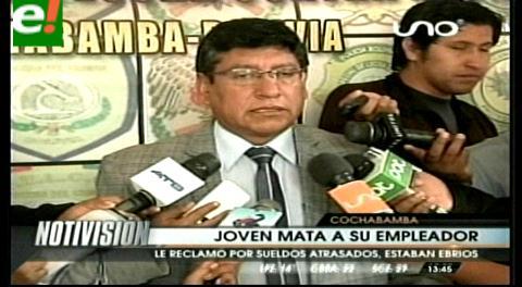 Cochabamba: Joven mata a su jefe de una puñalada
