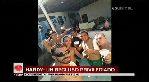 Denuncian privilegios a Hardy Gómez en Palmasola
