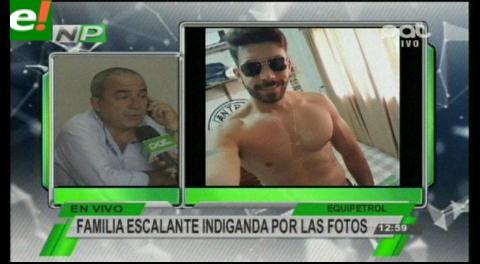 Familia de Álvaro Escalante indignada por las fotografías de Hardy Gómez en Palmasola
