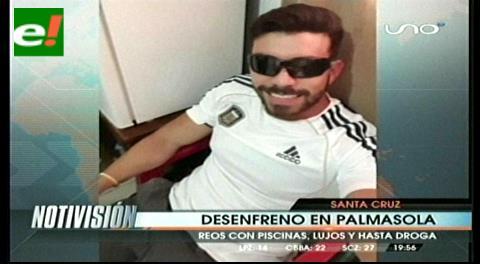 Aíslan 30 días a Hardy Gómez por juerga con trago en la cárcel