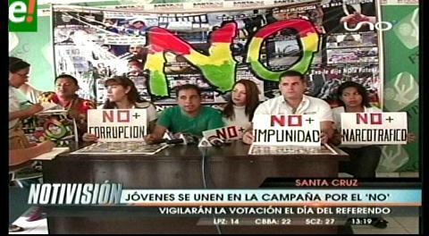 OIP y «Todos podemos ser presidente» se unen para hacer campaña por el No