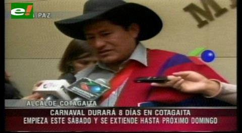Ley buscará declarar patrimonio a Carnaval de Cotagaita