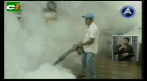 Seguirán fumigando en las unidades educativas de Santa Cruz