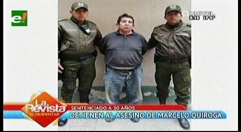 """Presidente Morales confirma la captura de """"El Killer"""", autor de la muerte de Marcelo Quiroga"""