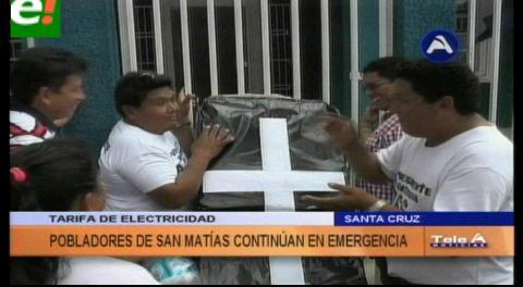 Vigilia: Matieños anuncian crucifixiones
