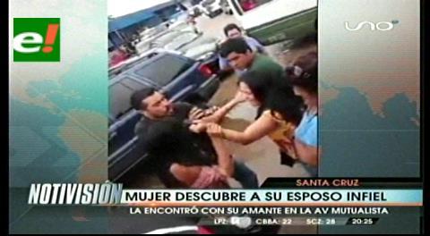 Santa Cruz: Mujer descubre y agrede a la amante de su marido