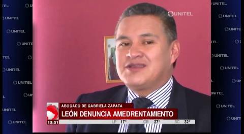 Abogado de Zapata pide garantías para poder trabajar con seguridad