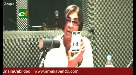 """Amalia Pando: la """"Mujer de Azul"""" muñequea los contratos chinos"""