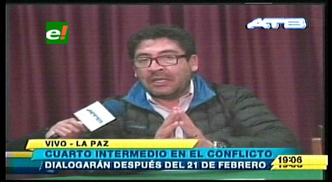 Tras inicio de desbloqueos, Viceministro anuncia posible acuerdo