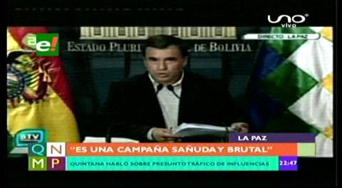 Gobierno admite que Gabriela fue pareja de Evo, niega tráfico de influencias y amenaza a Valverde