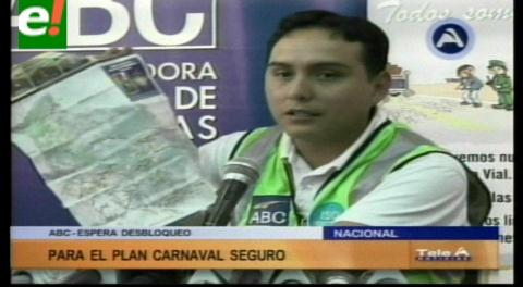 ABC activa plan 'Viaje Seguro' por Carnaval