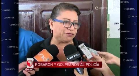 Sospechosos de asaltar a un policía serán cautelados