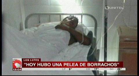 Joven fue gravemente herido en una pelea en Los Lotes